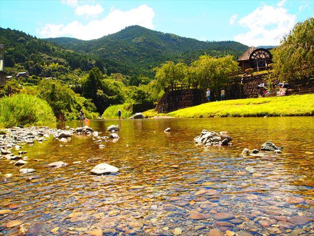 徳島 魅力 綺麗な川