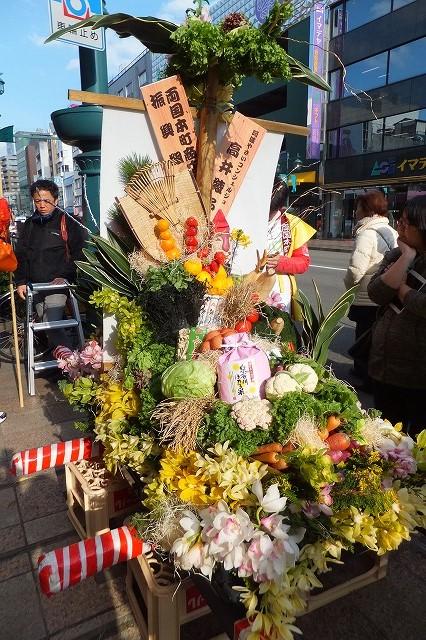 徳島市 えびす祭り 事代主神社 通町 おいべっさん 10日えびす 野菜みこし