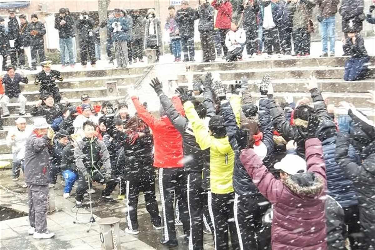 徳島市 雪 2016年1月24日