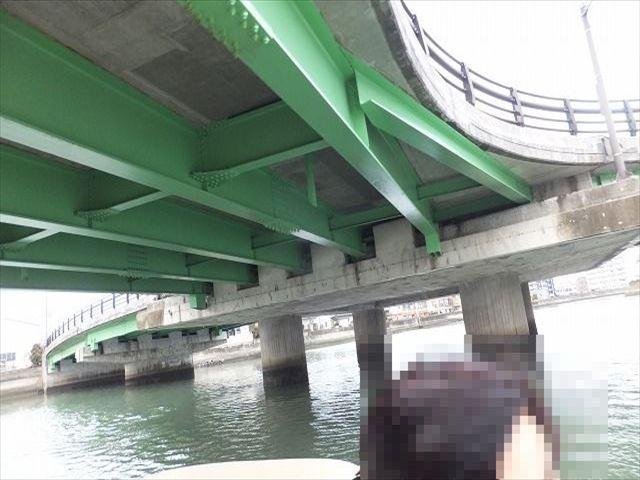 徳島 ひょうたん島クルーズ 三ツ合橋