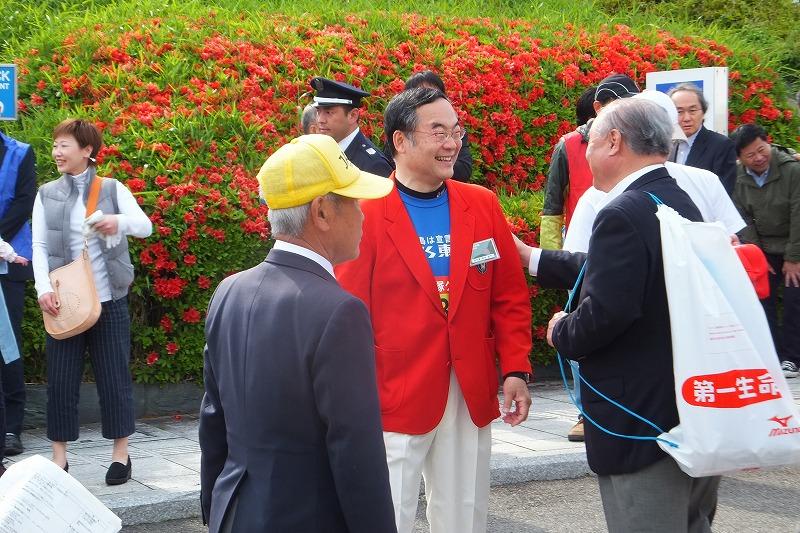 徳島マラソン とくしまマラソン 2016年 飯泉嘉門 徳島県知事