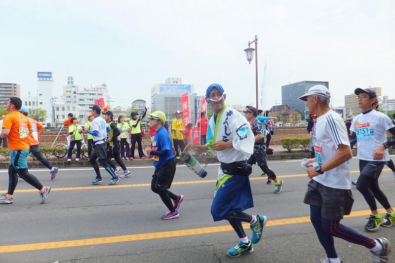 徳島マラソン とくしまマラソン 2016年 仮装ランナー