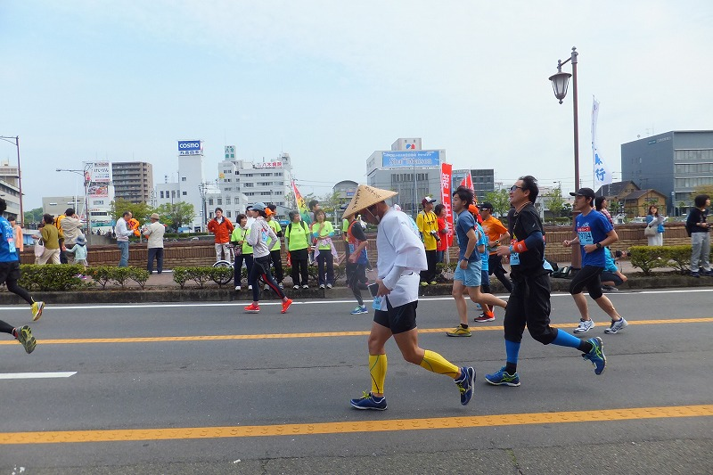 徳島マラソン とくしまマラソン 2016年 仮装ランナー お遍路