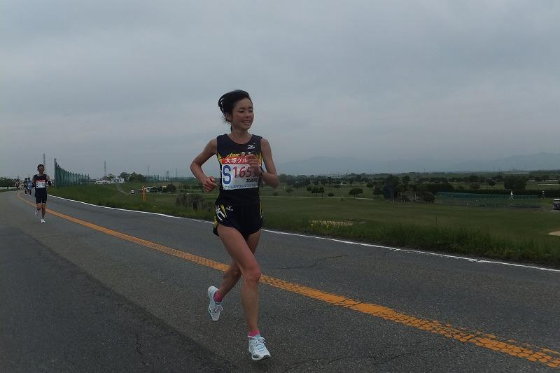 徳島マラソン とくしまマラソン 2016年 加藤智子