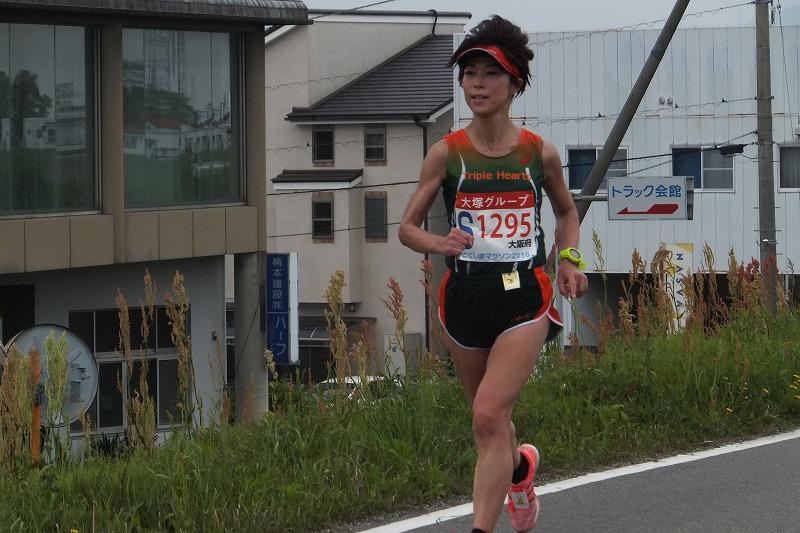 徳島マラソン とくしまマラソン 2016年 武田有加