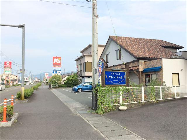 徳島県美馬市脇町 グレン・ドール パン屋 場所