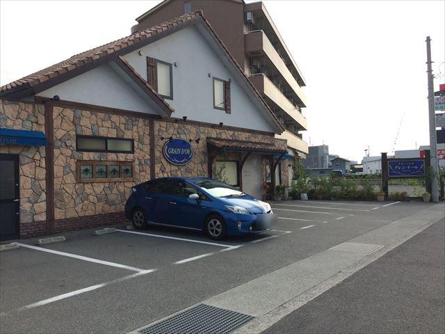 徳島県美馬市脇町 グレン・ドール パン屋 外観