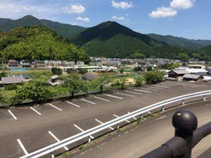 徳島 鷲敷 虹の丘公園 駐車場