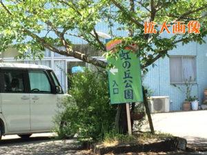 徳島 鷲敷 虹の丘公園 ルート