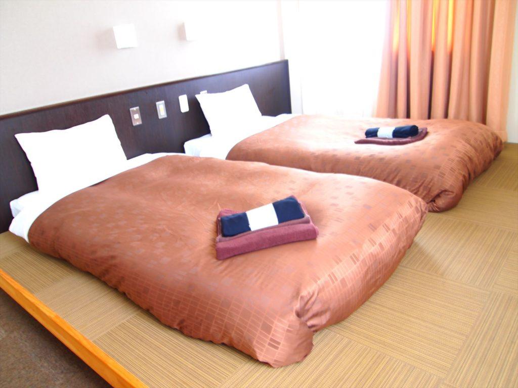 ホテルたいよう農園 小上がりツインルーム