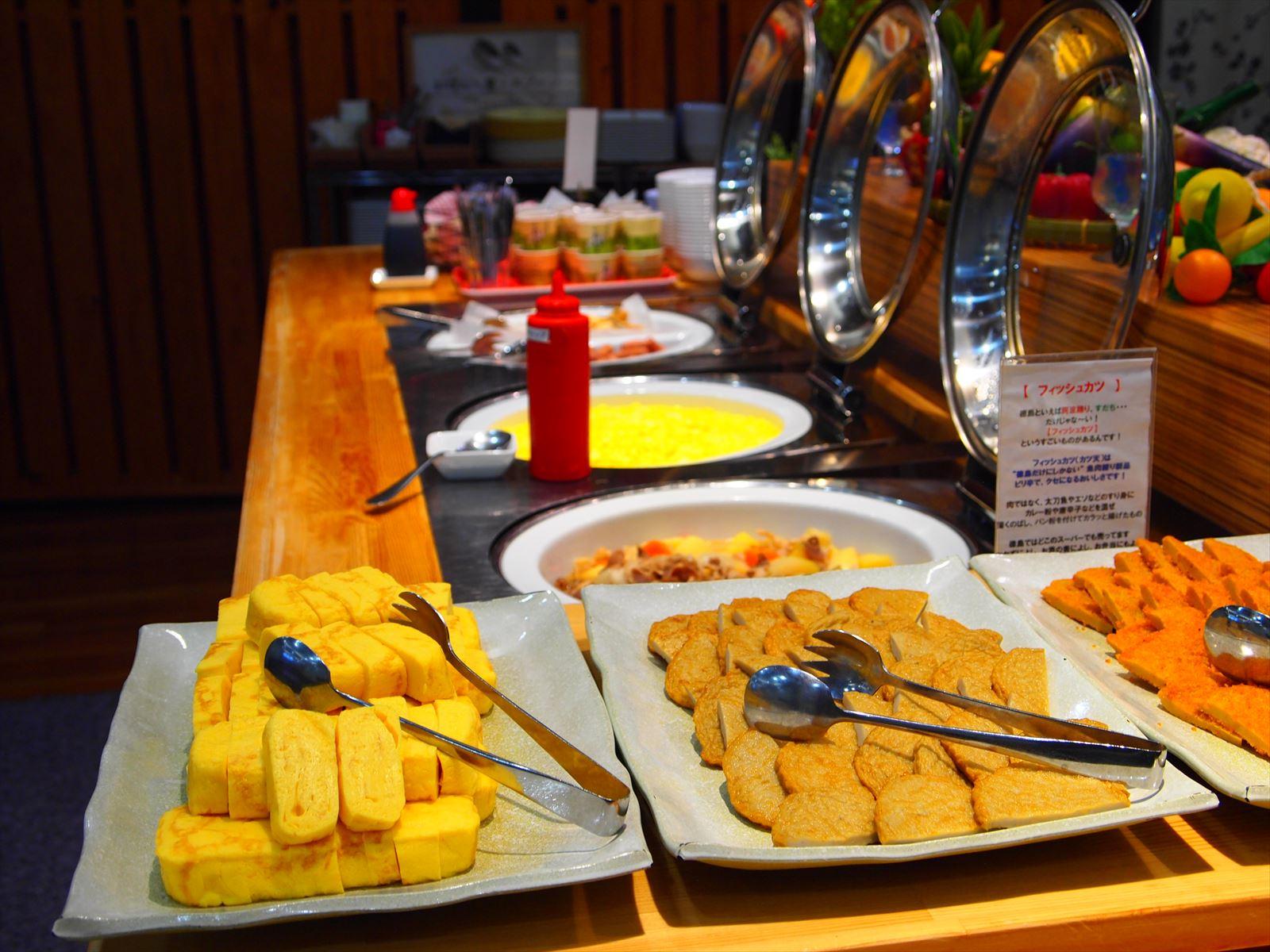 ホテルたいよう農園 赤字食堂 バイキング形式朝食