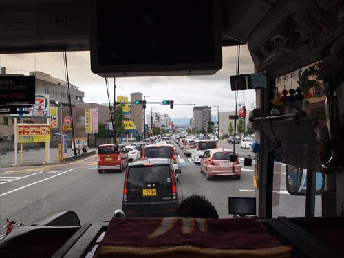 第2回「とくしまバスまつり」渋滞 アスティとくしま