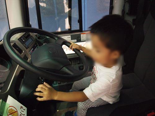 第2回「とくしまバスまつり」バス 運転席