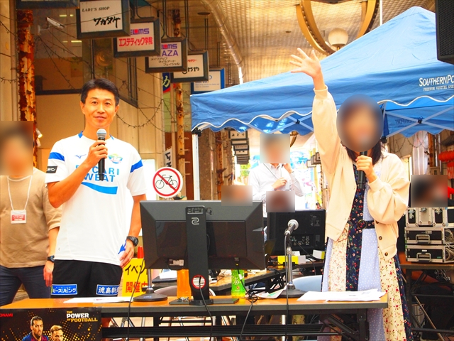マチ☆アソビvol.21 ウイニングイレブン eスポーツ 柘植竜治