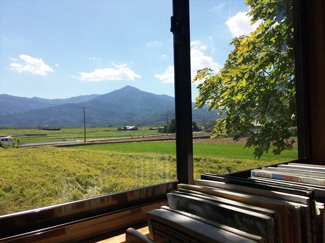 徳島ドルチェ 窓からの眺め