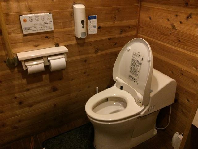 徳島 阿波市 ドルチェ イタリアンジェラート トイレ