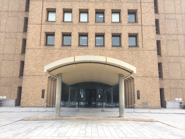 徳島県庁 入口