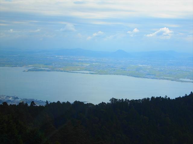比叡山 琵琶湖