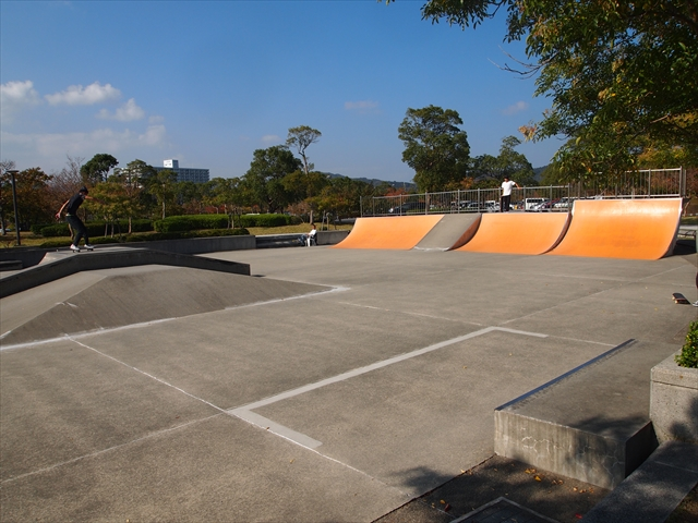 鳴門ウチノ海総合公園 うちのうみ スケードボード場 ローラースケート