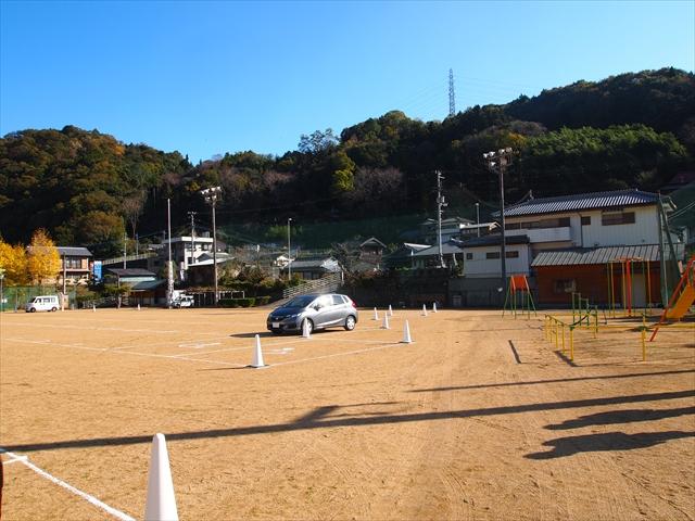 徳島県 神山町 4K・VR徳島映画祭 広野小学校 駐車場