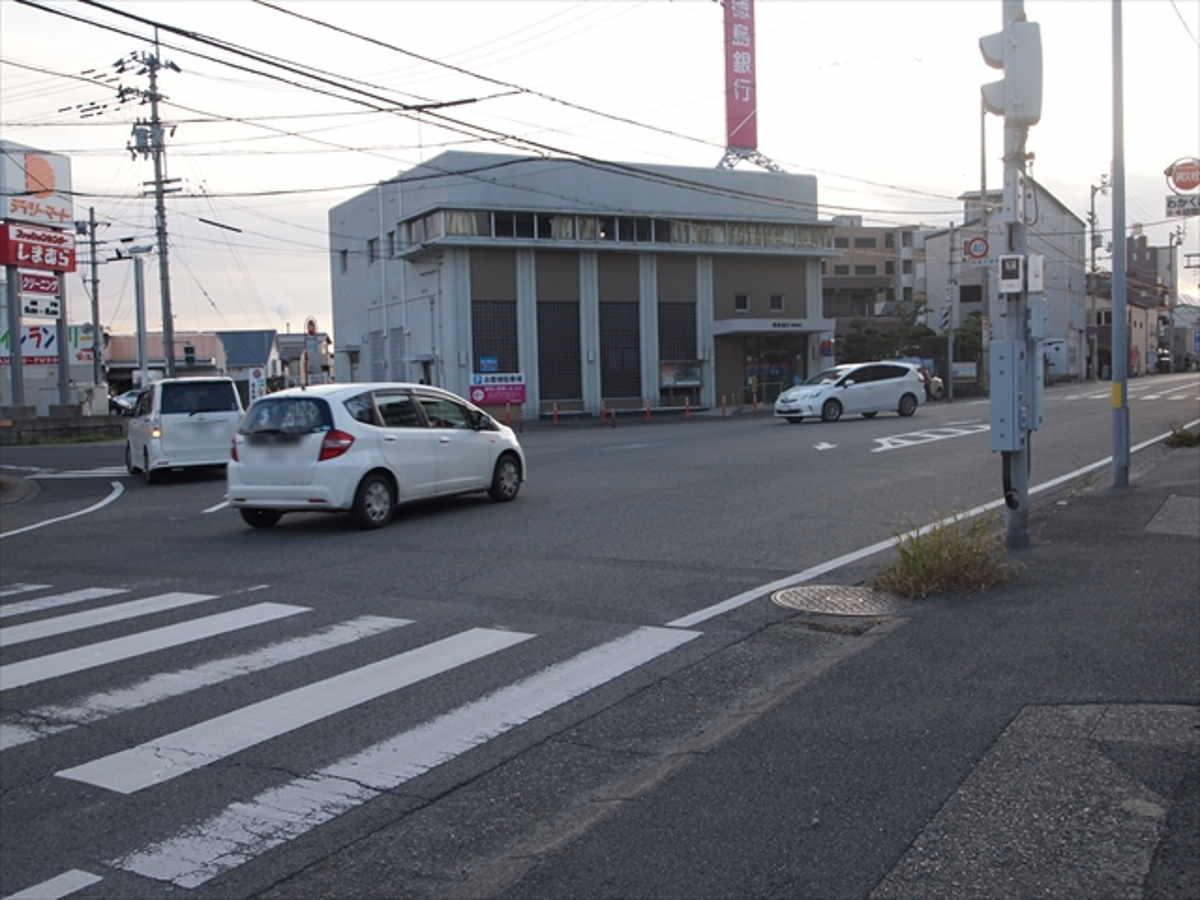 徳島 特有 右折 交通マナー