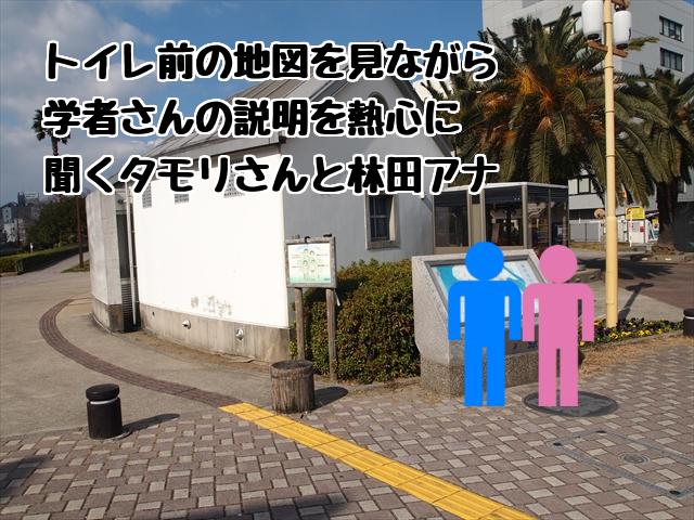 ブラタモリ 徳島県徳島市 ロケ タモリ 林田理沙 藍場浜公園
