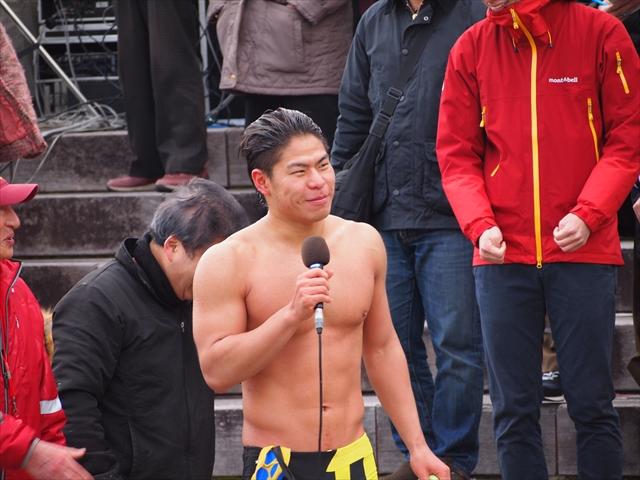 2019年 第25回新町川寒中水泳 徳島大学水泳部