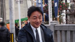 後藤田正純 徳島えびす祭り 通町のおいべっさん 2019年1月9日 事代主神社