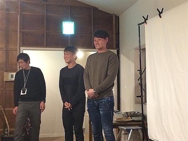 第1回ヴォルティススタジアム 会員限定オフ会 小西雄大選手 梶川裕嗣選手