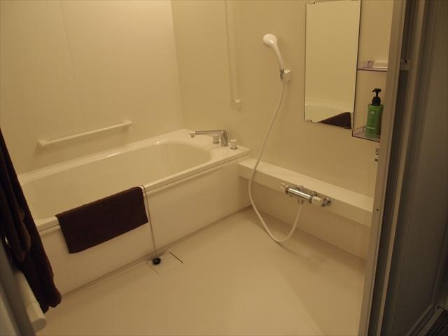松山市 ホテルたいよう農園二番町 バリヤフリールーム お風呂