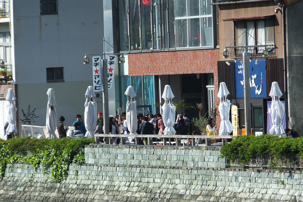 ufotablecafe(ユーフォテーブルカフェ)徳島 マチアソビ期間中の様子