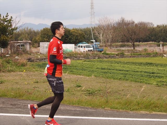 名古屋グランパス とくしまマラソン2019 Jリーグユニ勢