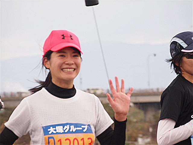 とくしまマラソン2019 福長英未 NHKキャスター