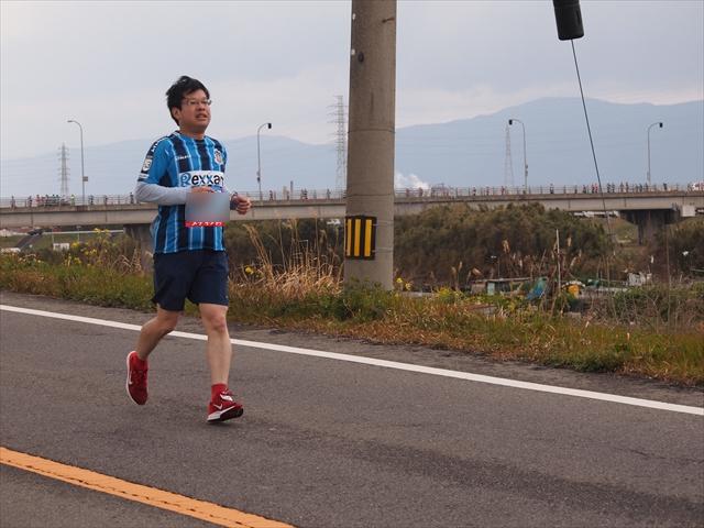 カマタマーレ讃岐 とくしまマラソン2019 Jリーグユニ勢