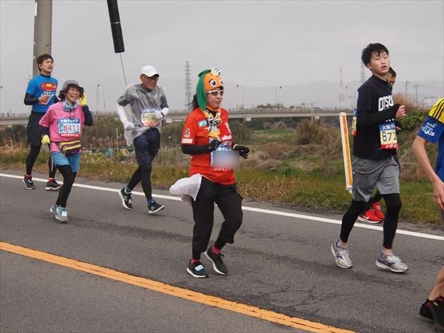愛媛FC とくしまマラソン2019 Jリーグユニ勢