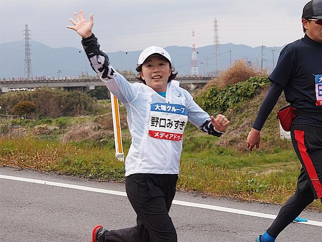 野口みずき とくしまマラソン2019