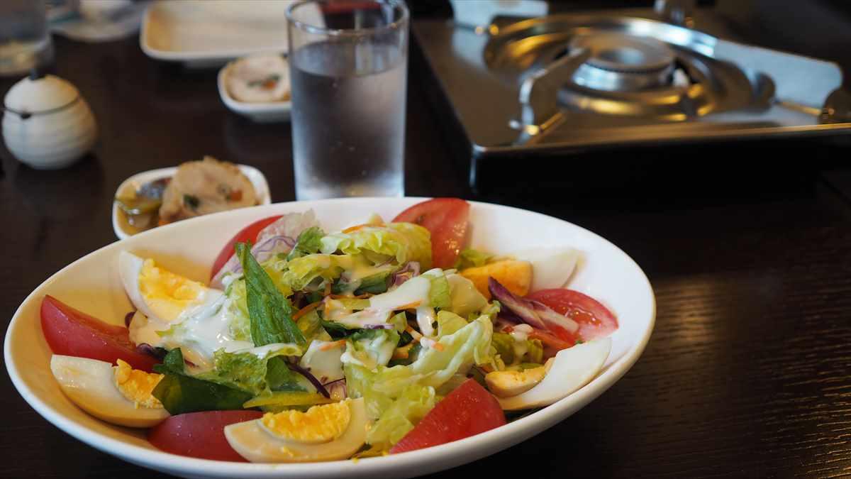 徳島市南内町 鶏そば つけ麺 すゞや 夜間営業限定メニュー 野菜鍋