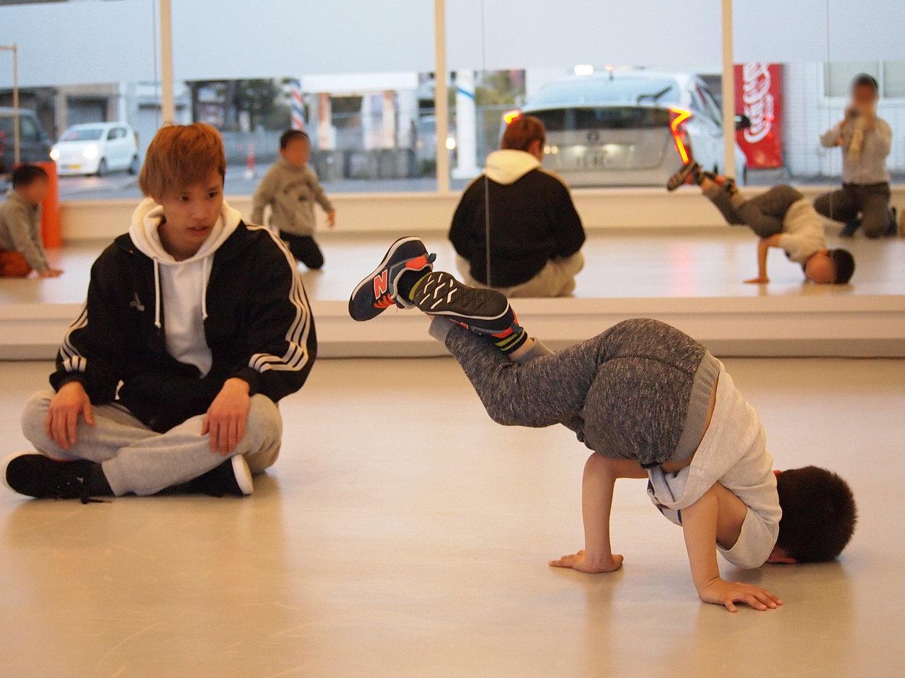 徳島県北島町 ダンススタジオ ダンススクール B.I.G(ビーアイージー) KIDS BREAKIN超入門 Ryo