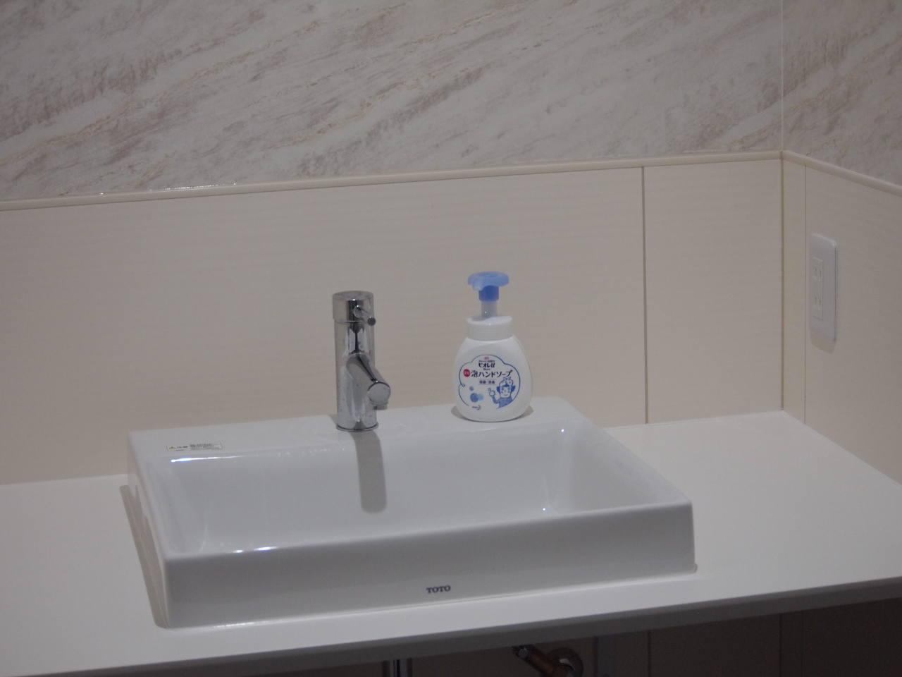 徳島県北島町 ダンススタジオ ダンススクール B.I.G(ビーアイージー) 手洗い