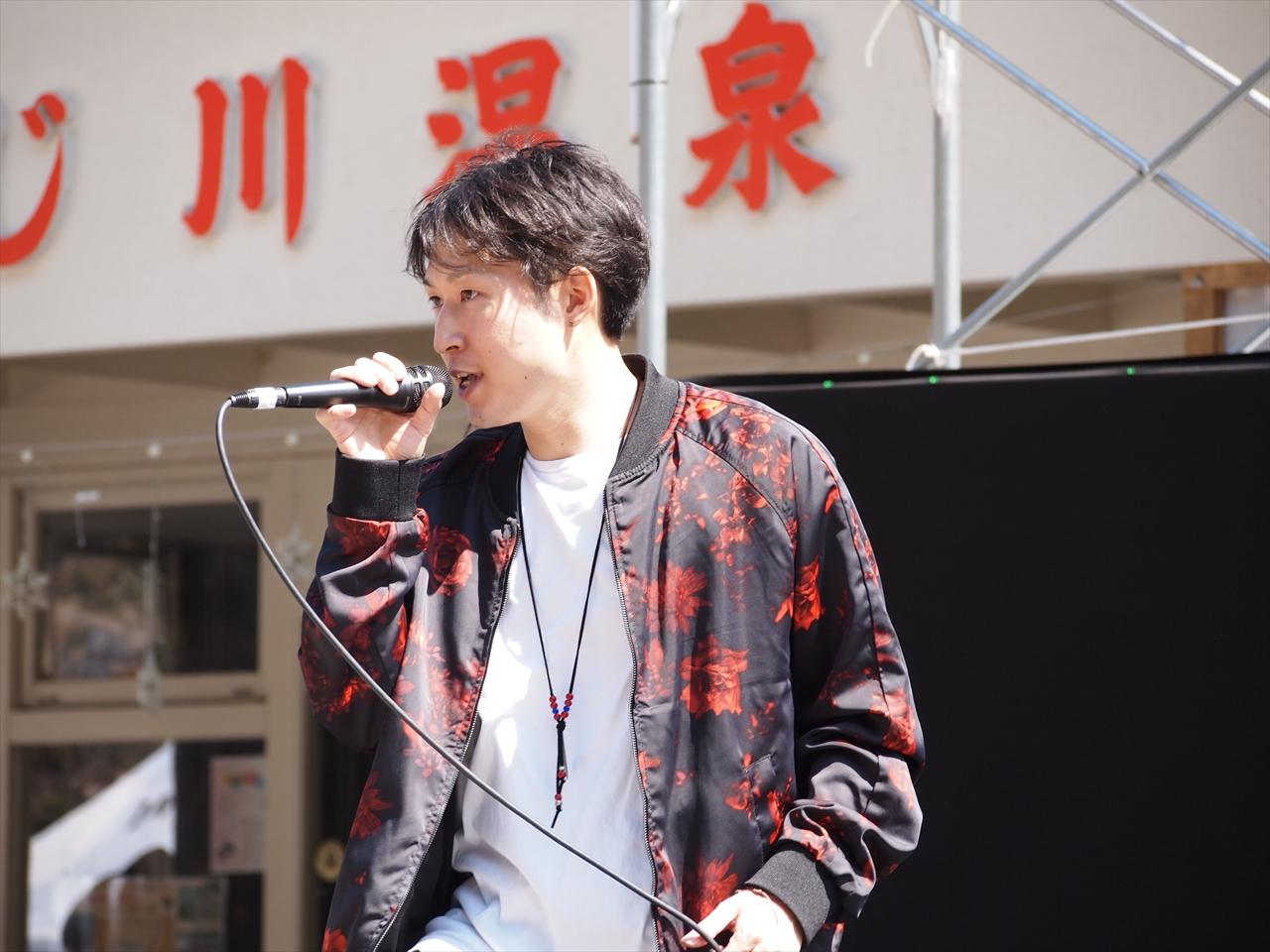 Elef The Rius(エリフザリウス) Kyohei もみじ川温泉 さくら祭り エキサイティングサマーinワジキ 2019 オーディション