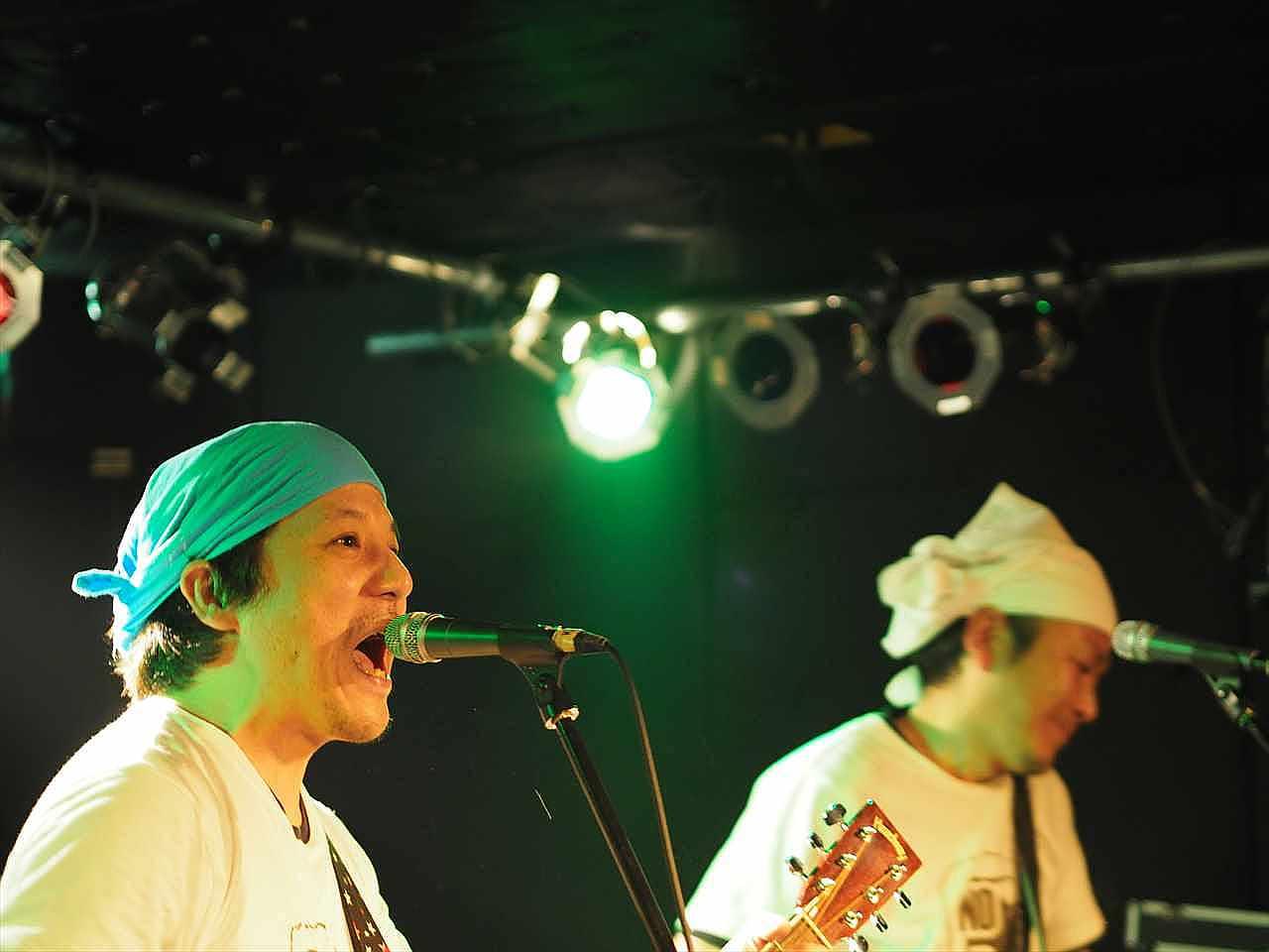 TUCK−NEYS ツクネーズ CROWBAR 徳島ロックストリート vol.16