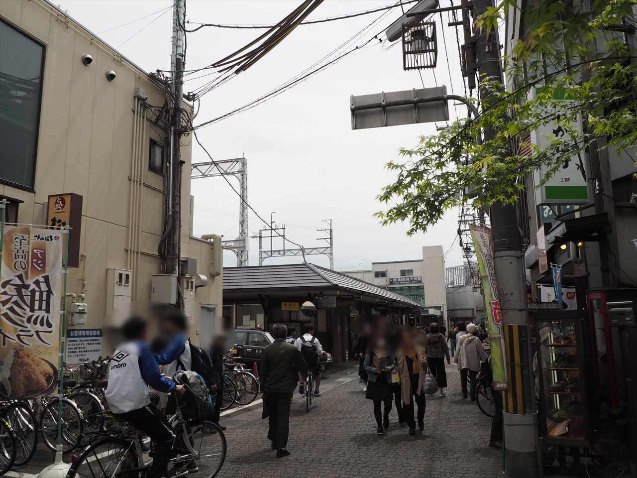 阪急 長岡天神駅 駅前通り