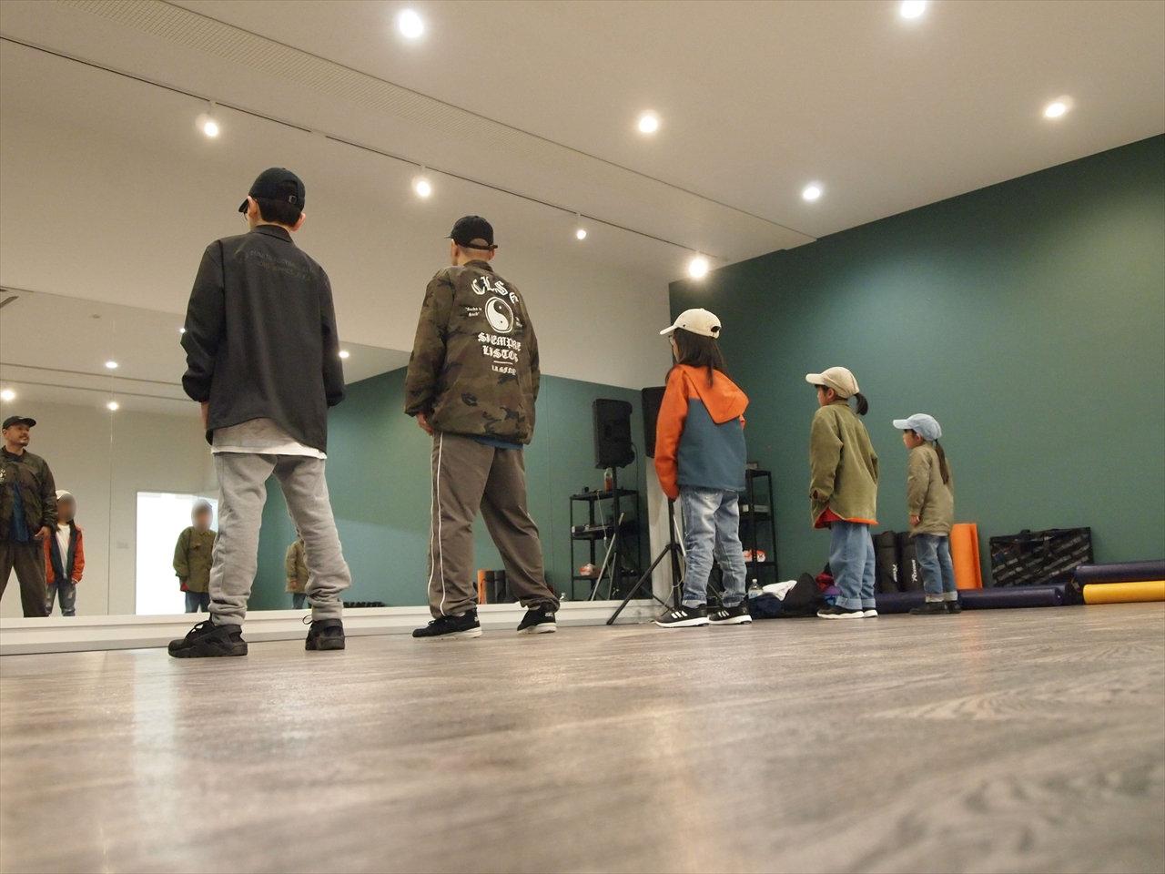 徳島県北島町 ダンススタジオ ダンススクール B.I.G(ビーアイージー) FREESTYLE 基礎 KAZU 岩佐和宏