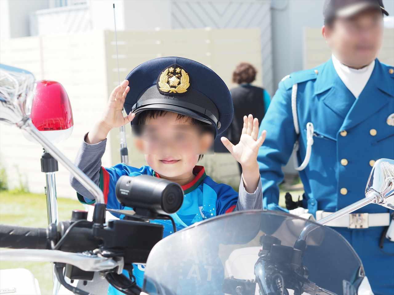2019年5月5日 徳島ヴォルティス 栃木SC 働くクルマ大集合 白バイ