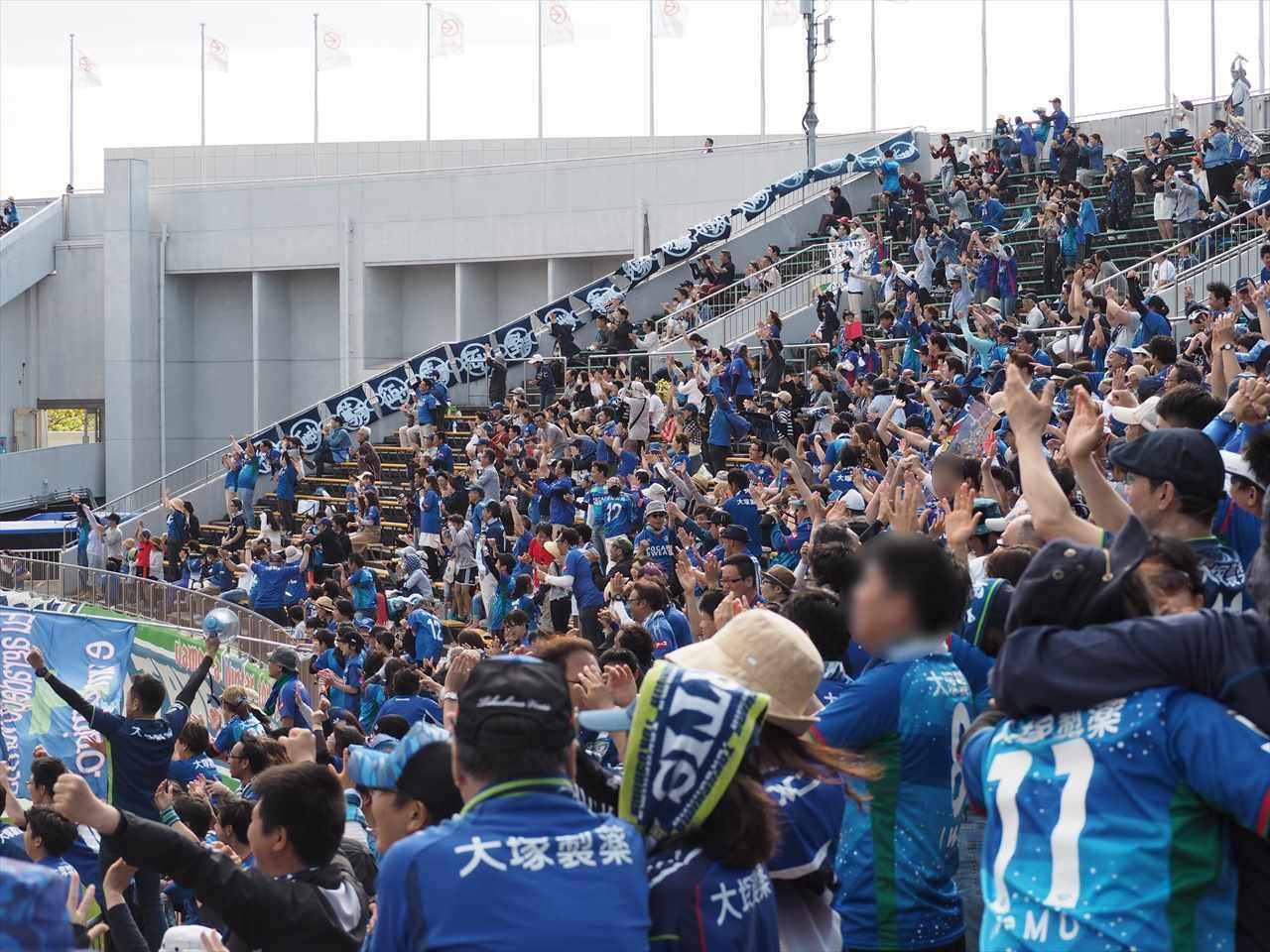 2019年5月5日 徳島ヴォルティス 栃木SC 岩尾 劇的ゴール