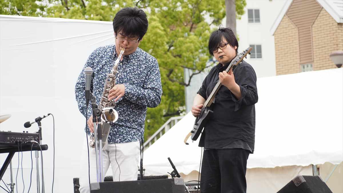 LONG HOUSE - Organ Trio 大西管三郎 徳島地ビールフェスタ2019 音楽ライブ 2019年5月18日