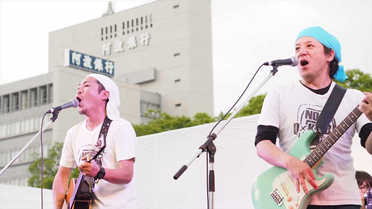 ツクネーズ(TUCK-NEYS) 徳島地ビールフェスタ2019 音楽ライブ 2019年5月18日