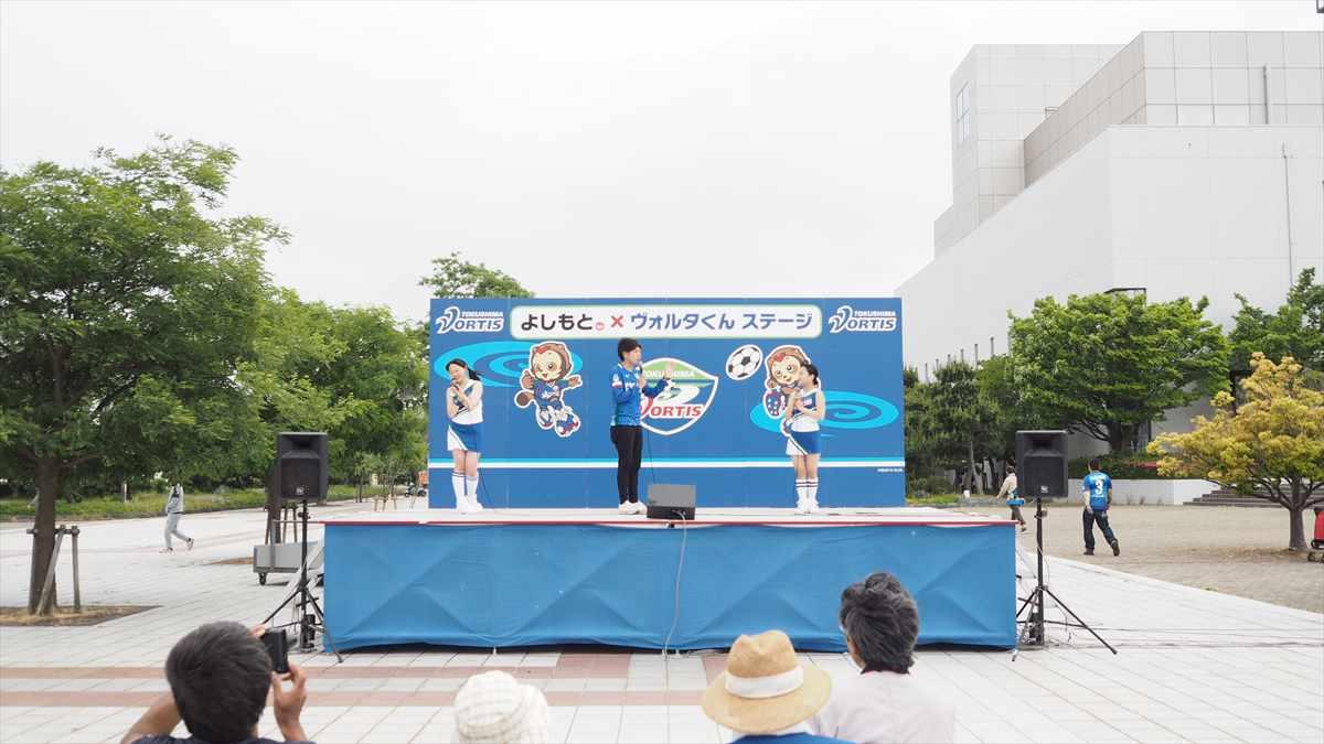 2019年5月19日 徳島ヴォルティス モンテディオ山形 ヴォルタくんステージ ダンス