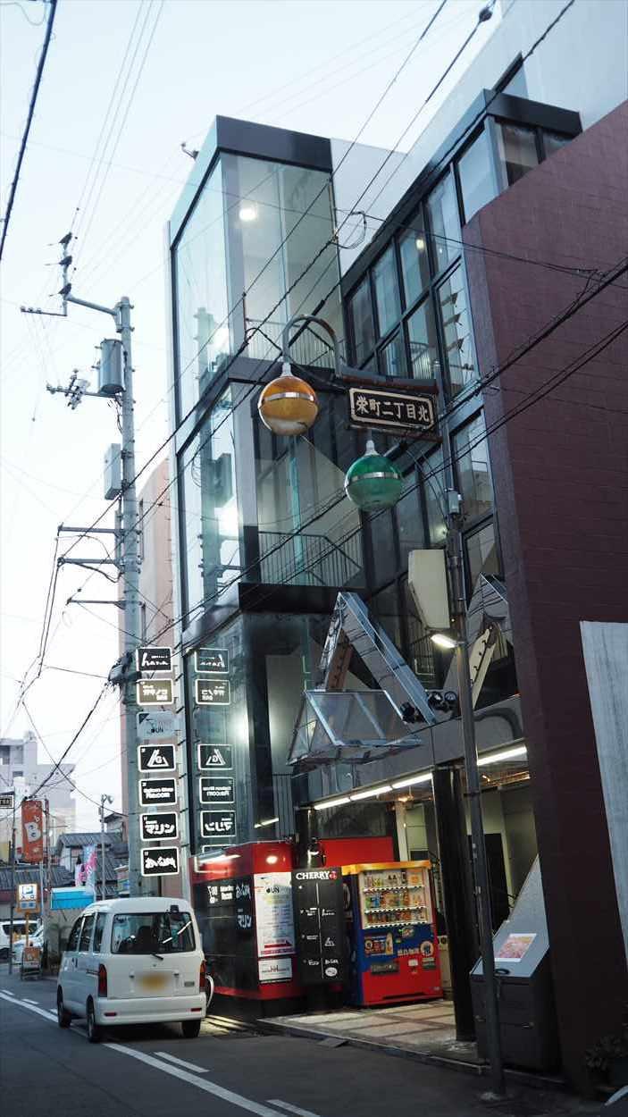 徳島市栄町 創作ダイニング hana 場所 行き方 チェリービル