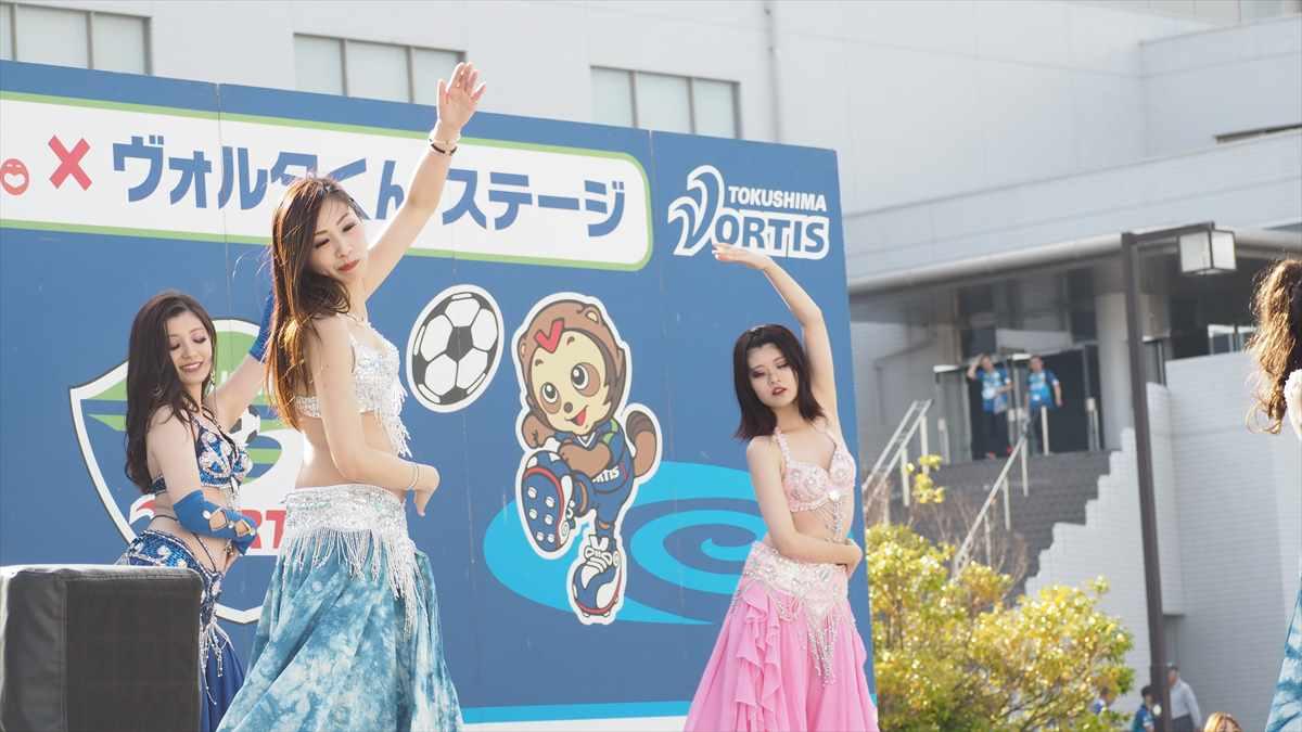 徳島ヴォルティス対町田ゼルビア 2019年6月8日 Shantii Cream(シャンティ・クリーム) ベリーダンス